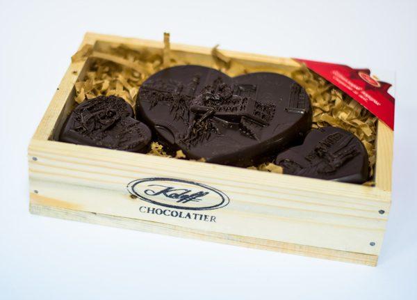 Комплект Шоколадови Изделия Вкусът на Любовта
