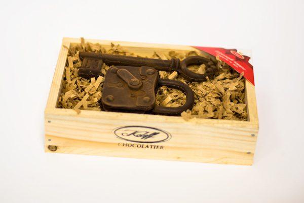 Комплект Шоколадови Изделия Шоколадов Катинар и Ключ