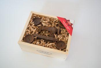 Chocolate sewing machine